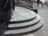 granite steps and cladding